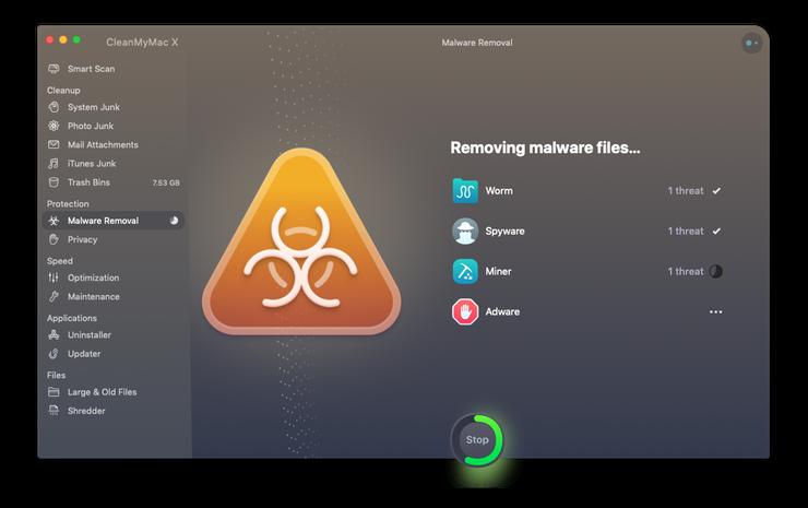 Removing malware on Mac