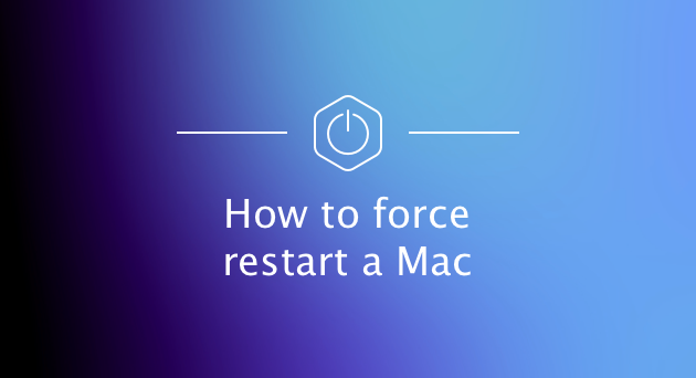 how force restart macbook pro