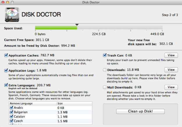 disk-doctor-cleaner
