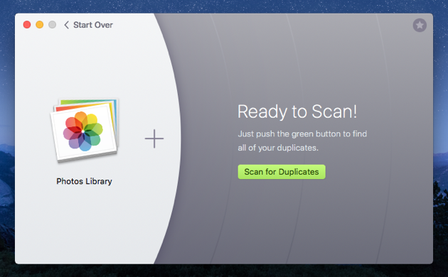 Choose the folders with your photos for a scan in Gemini The duplicate finder