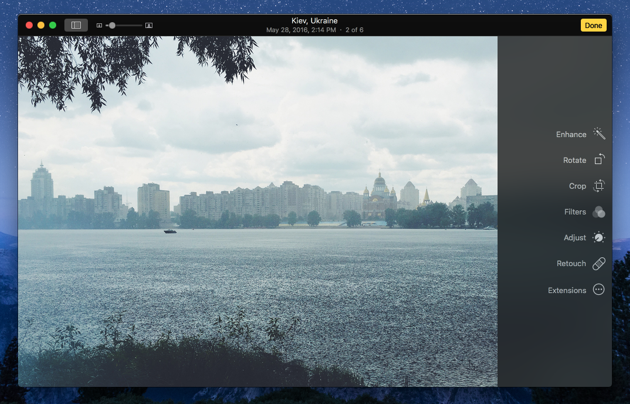 How to switch between images without leaving the editing mode