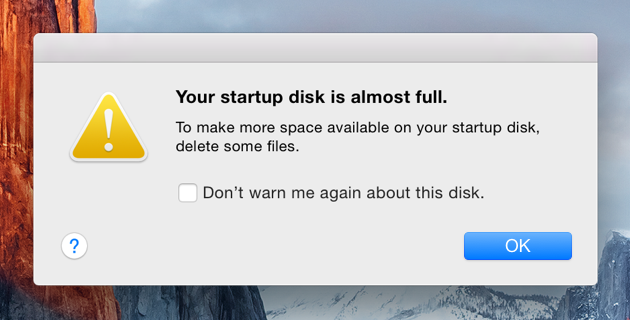 Startup Disk Full | What to do when your startup disk is full / What to do when your startup disk is almost full