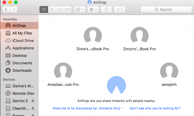 How to use AirDrop on Mac