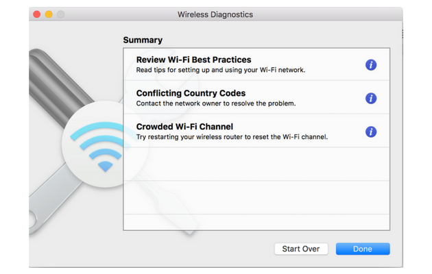 Fix Wi-Fi settings on Mac