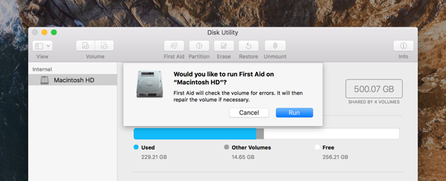 How to repair permissions on Mac