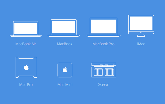 Mac models that can upgrade to OS X Yosemite