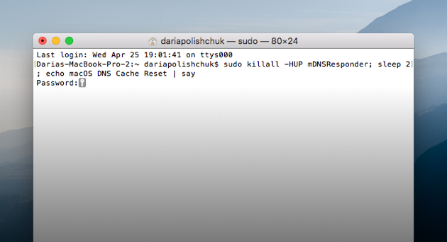 How to flush your dns cache on mac clear dns cache on mac ccuart Images