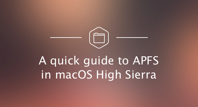 macOS APFS - Apple File System Review