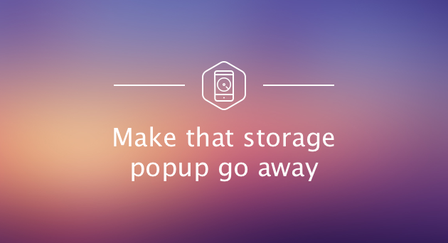 storage almost full on iphone iphone storage almost how to free up space on iphone 1484