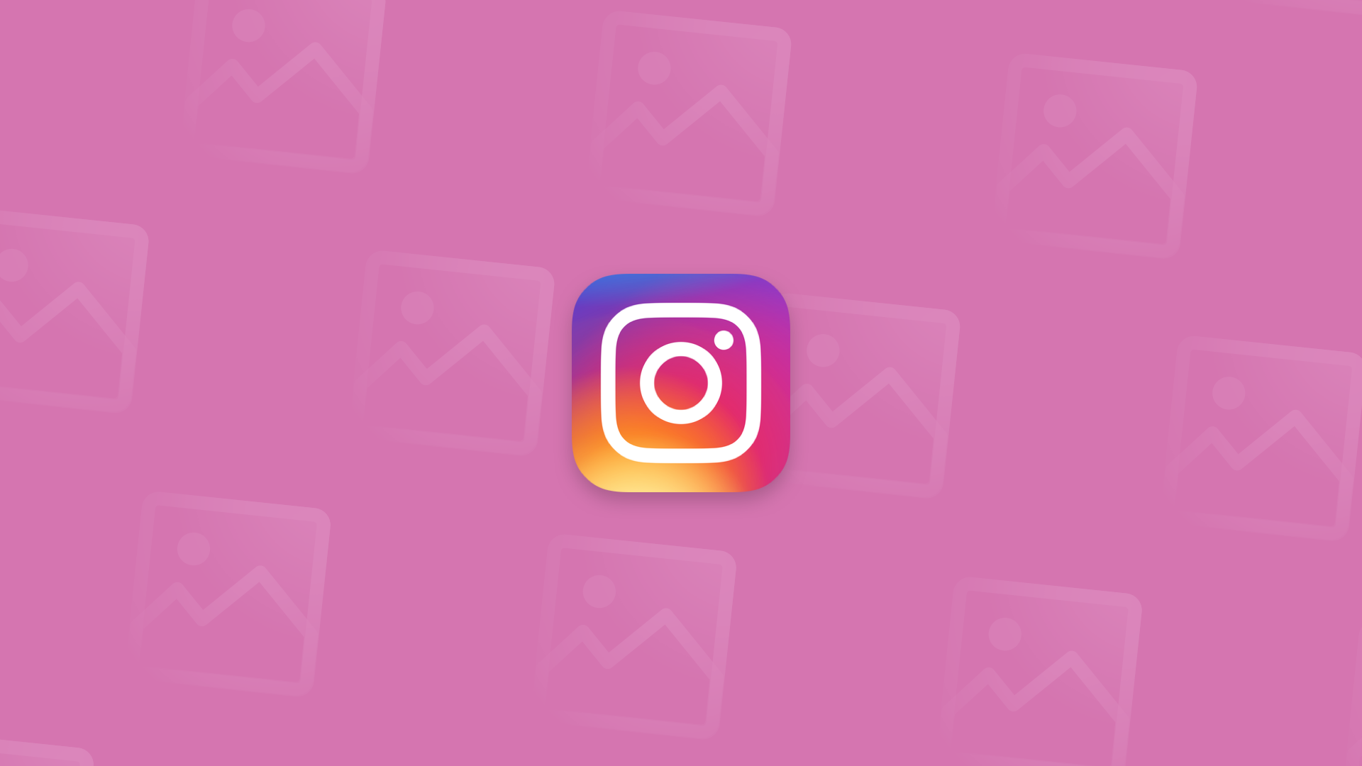 How to create the perfect Instagram theme: Main image