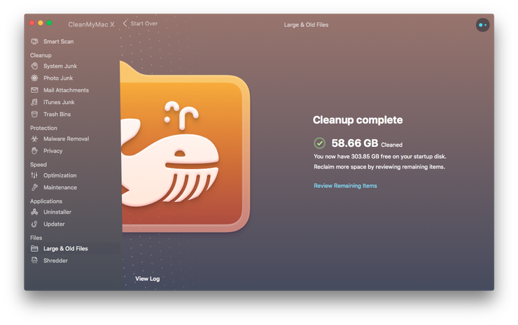How to clean old files from Mac