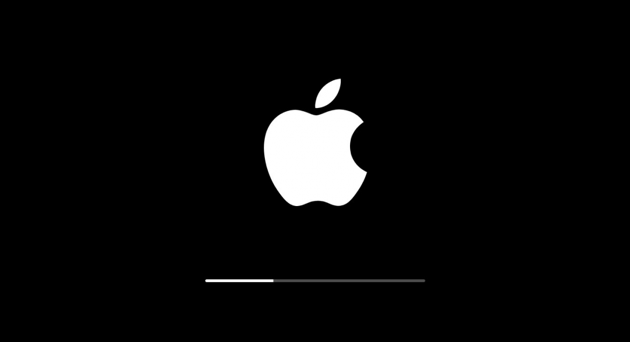 macbook button boot