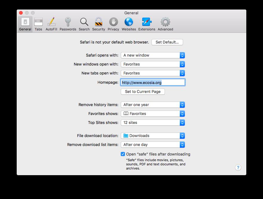 كيفية تغيير محرك البحث في Safari لنظام التشغيل macOS 1