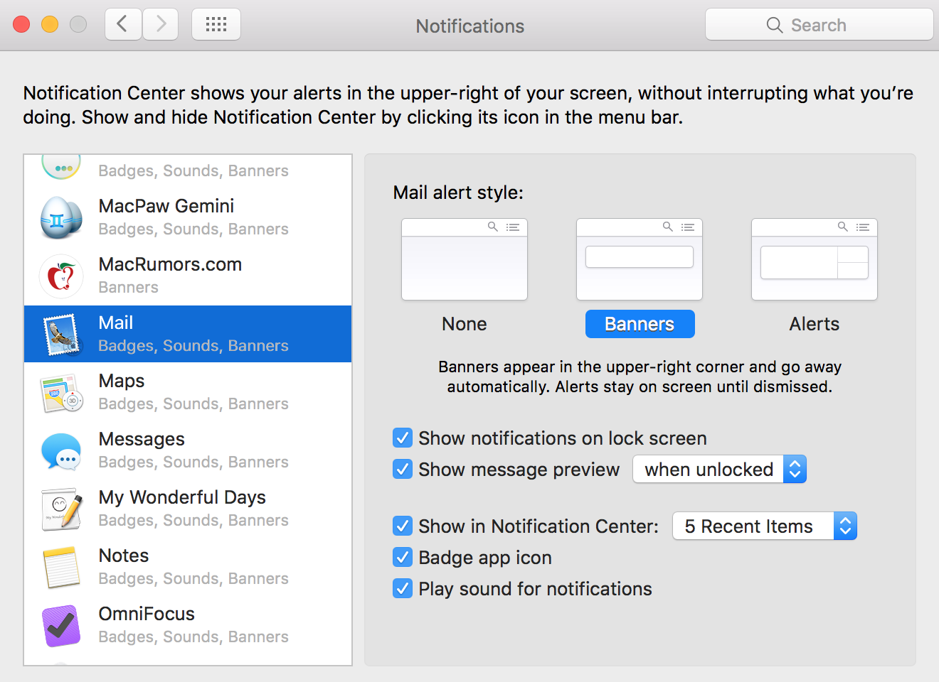 Mail app problems on macOS High Sierra