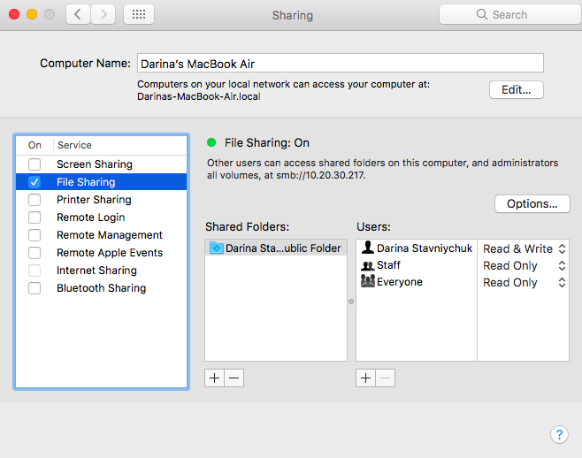 file-sharing-system-preferences