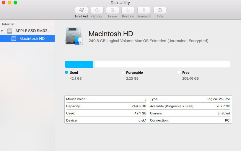 How to partition a hard drive or SSD on Mac