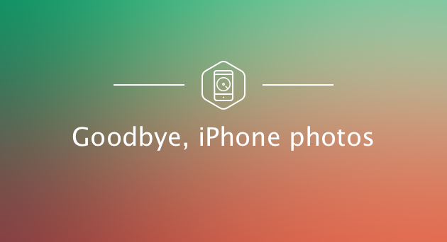 Remove all iPhone photos