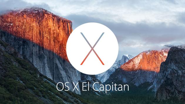 El Capitan OS X