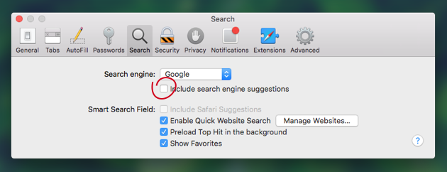 Fix Safari issues on El Capitan