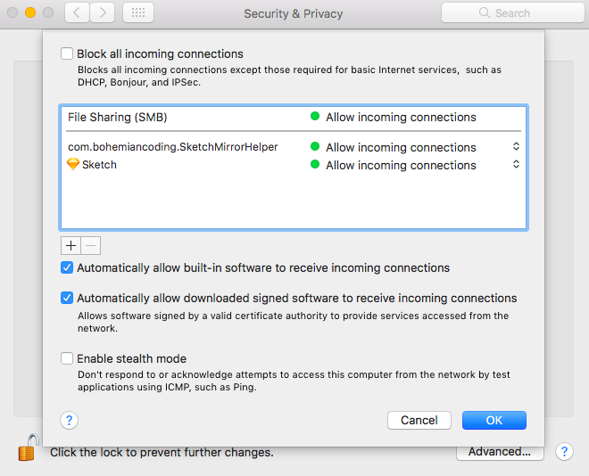 How to enable and disable Firewall on Mac