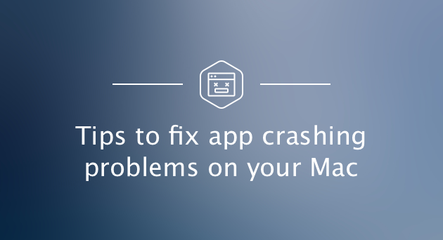 How to fix application crashes in Mac OS X