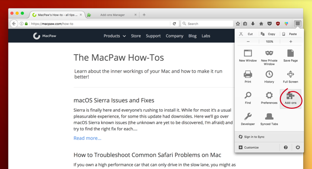 why is firefox not working on mac