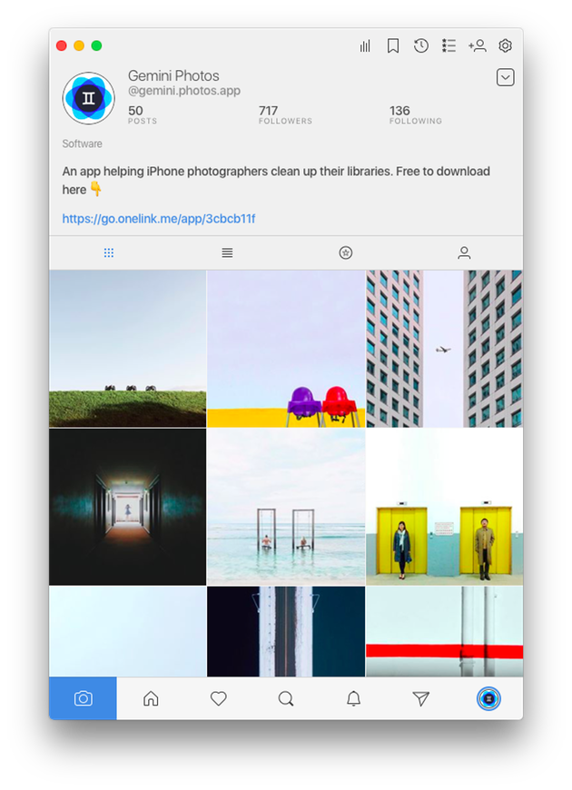 instagram app for mac