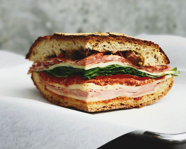 Food photography tip: Photo of a sandwich