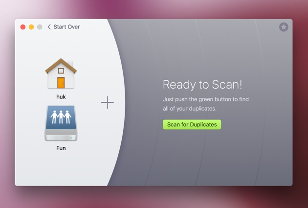 Cleanup shared space - scan the NAS for duplicate files