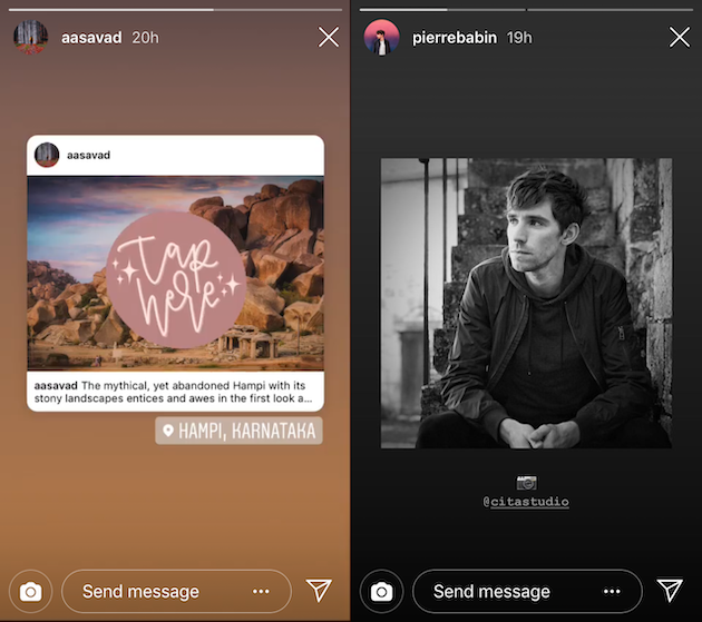 Grow your Instagram followers using Stories