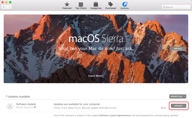 How to download macOS Sierra from App Store