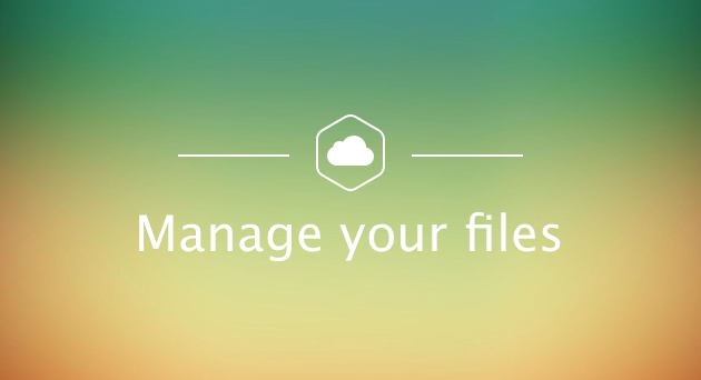 Manage your files on iCloud Drive storage