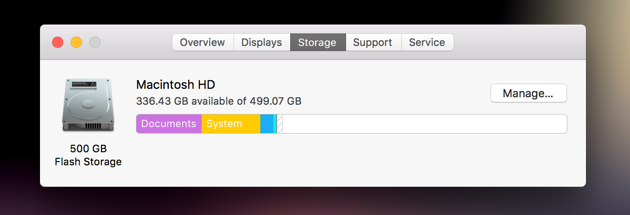 check-storage-mac