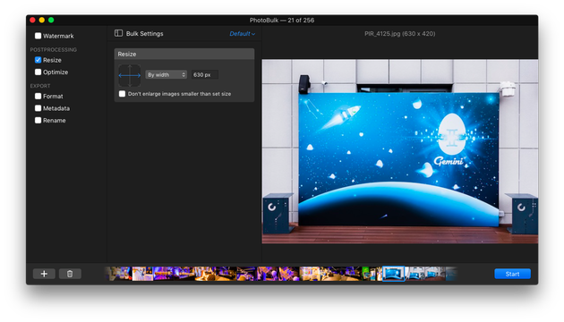 photo resizing app for mac