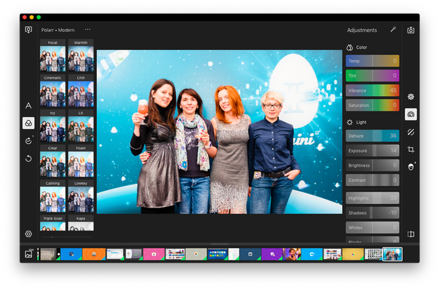 photo editing softwares free for mac