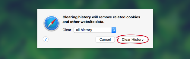 How to clear cookies in Safari manually