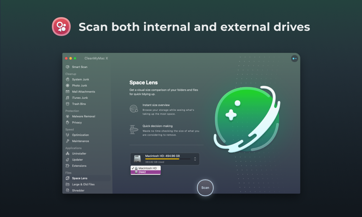 scan all your drives