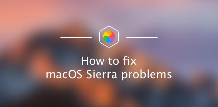 Resoudre Les Problemes Sous Macos Sierra
