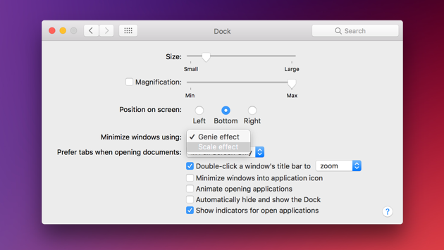 How to speed up Mac: Turn off visual effects on Mac