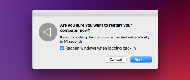 How to speed up Mac: restart, reboot your laptop