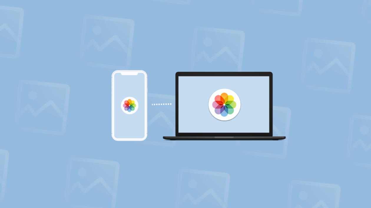 How to import photos from iphone to mac using icloud