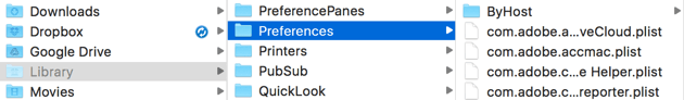 Clean up Preferences