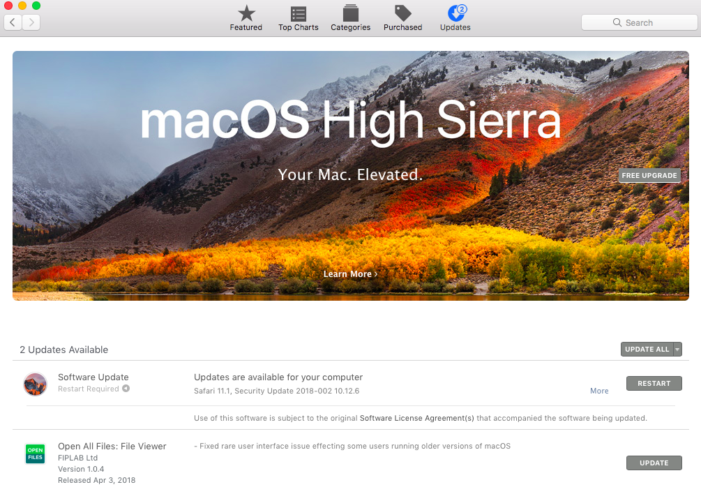 update-software-mac