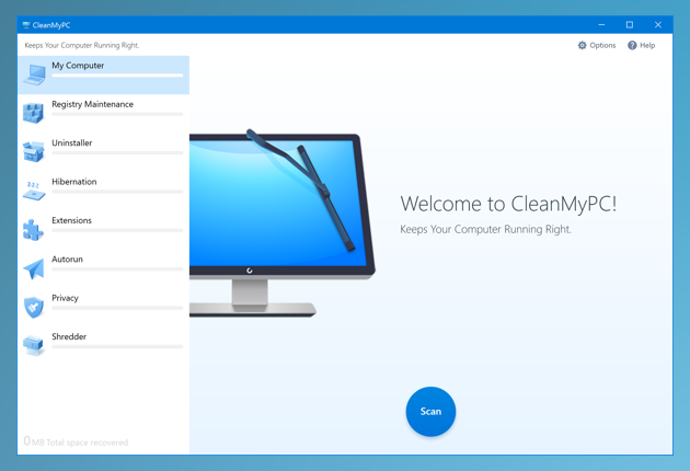 Clean up Windows 7 with CleanMyMac